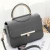 กระเป๋าถือ Rum leather (gray)