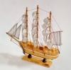 เรือสำเภาไม้จำลองตั้งโชว ขนาด 9 นิ้ว