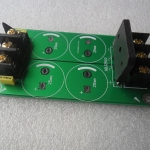 PCB วงจร Rectifier ไฟบวก ลบ กราด์ สำหรับวงจรขยายเสียง