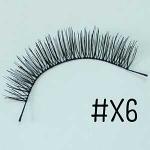 ขนตาปลอม แบบ10คู่ ราคาปลีก #X6 แกนไหม