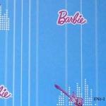 3761-2 Barbie วอลเปเปอร์ลายการ์ตูน