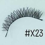 ขนตาปลอม แบบ10คู่ ราคาปลีก #X23 แกนไหม
