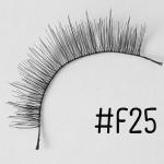 ขนตาปลอม แบบ10คู่ ราคาปลีก #F25 แกนไหม