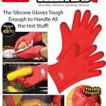โอ๊ย ! ร้อนมือ 269 บ. หายร้อนมือ ด้วยถุงมือซิลิโคนกันความร้อน ทนความเย็นความร้อน -40°C ถึง 220°C ปิ้ง ย่าง ต้ม อะไรร้อน ๆ กันได้ทุกอย่างสบาย ๆ ครับ