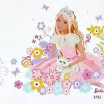3752 Barbie วอลเปเปอร์ลายการ์ตูน