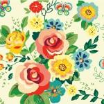 วอลเปเปอร์ลายดอกไม้ #7