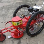 เครื่องตัดหญ้าแบบล้อจักรยาน Lawn Mover