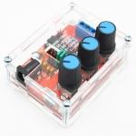 ชุดคิท XR2206 Function Generator วงจรกำเนิดความถี่ พร้อมกล่องอะคริลิคใส