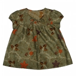 Chest Smocked Blouse_Paisley