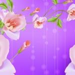 วอลเปเปอร์ลายดอกไม้ #52