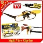 159 บ.กับความปลอดภัยของคุณ กับเลนส์แว่นตาสำหรับขับรถตอนกลางคืน เพิ่มความคมชัดในการมองเห็น เพียงเสียบในแว่นตาของคุณได้ทุกรุ่น