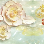 วอลเปเปอร์ลายดอกไม้ #48