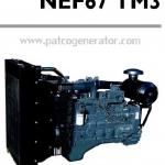 """เครื่องยนต์ดีเซล Diesel Engine """"IVECO"""" 6 สูบ Cylinder # NEF67TM3 ขนาด prime 138 kw. @ 1500 RPM."""