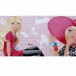 BD3763 Barbie วอลเปเปอร์ลายการ์ตูน