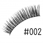 ขนตาปลอม แบบ10คู่ ราคาปลีก #002 แกนไหม