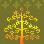 วอลเปเปอร์ลายต้นโพธิ์ 4