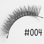 ขนตาปลอม แบบ10คู่ ราคาปลีก #004 แกนไหม