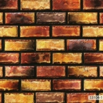 53104-1 วอลเปเปอร์ลายอิฐ The Stone Therapy