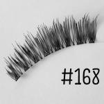ขนตาปลอม แบบ10คู่ ราคาปลีก #168 แกนเอ็น