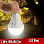 หลอดไฟอัฉริยะ LED 12 วัตต์ ใช้เป็นไฟฉุกเฉิน ติดอัตโนมัติเมื่อไฟดับ เพียง 139 บ.