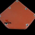 ผ้ากันไฟ (SILICA) อุณภูมิสูงสุด 1,000 C ชนิดเคลือบซิลิโคนกันฝุ่น สำหรับใช้งานเชื่อม (ผ้าซิลิก้าเคลือบซิลิโคน)