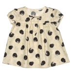 Chest Smocked Blouse_cats