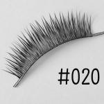 ขนตาปลอม แบบ10คู่ ราคาปลีก #020 แกนเอ็น