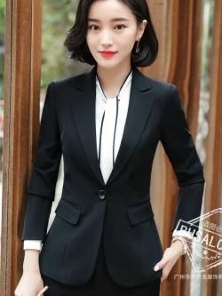 เสื้อสูทแฟชั่น พร้อมส่ง เสื้อสูท สีดำ คอปก ผ้าคอตตอน 100 % เนื้อดี คุณภาพงานพรีเมี่ยม