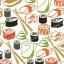 วอลเปเปอร์ลายร้านอาหารญี่ปุ่น #18 thumbnail 1