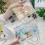 กระเป๋าสะพายข้างผู้หญิง Jelly Rainbow 01 หนังใสประกายรุ้ง thumbnail 2