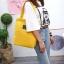 กระเป๋าผ้า LD003 Yellow thumbnail 4