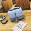 กระเป๋าสะพายข้างผู้หญิง Lovely girl สีฟ้า thumbnail 1
