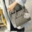 กระเป๋าถือ Blooming life (Gray) แถมฟรี พู่ห้อยกระเป๋า!! thumbnail 1