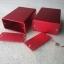 กล่องอลูมิเนียมขนาดสีชมพูแดง 23*44*60mm ขายเป็นชุด (ชุดละ 2 กล่อง) thumbnail 1