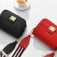 กระเป๋าสะพายข้าง mini function black red thumbnail 22