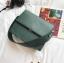 กระเป๋าสะพายข้างผู้หญิง Leather around สีน้ำตาล thumbnail 10