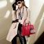 กระเป๋าสะพายข้างผู้หญิงฺ Berlyn สีแดง thumbnail 3