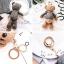 พวงกุญแจหมี น่ารัก lovely bear มีหลายสี thumbnail 13