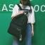กระเป๋าเป้ LB001 เป้ใบใหญ่ ใส่หนังสือได้ White thumbnail 14