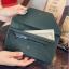 กระเป๋าสตางค์ผู้หญิง Leather 001 สีดำ thumbnail 8
