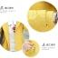 เสื้อกันหนาวแฟชั่น พร้อมส่ง สีเหลือง แขนยาว แต่งจั๊มปลายแขน แต่งลายจุดช่วงกระเป๋าและซับในฮูท แบบซิบรูดติดทับด้วยกระดุมแป๊ก thumbnail 9