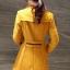 เสื้อโค้ทแฟชั่น เสื้อโค้ทกันหนาว พร้อมส่ง สีเหลือง เนื้อผ้าwoolen เนื้อหนามีซับใน ใส่แล้วอุ่นมากๆค่ะ thumbnail 4