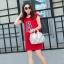 กระเป๋าสะพายข้างผู้หญิงสีขาวเนื้อแมท Fashion Lady thumbnail 11