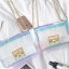 กระเป๋าสะพายข้างผู้หญิง Jelly Rainbow 01 หนังใสประกายรุ้ง thumbnail 9