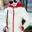 เสื้อกันหนาว พร้อมส่ง สีขาว ผ้าร่ม กันลมหนาวได้ดีเลยค่ะ อุ่นมากๆ แบบซิบรูด มีฮูทสุดเท่ห์ งานสวยเหมือนแบบแน่นอนค่ะ thumbnail 3