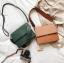 กระเป๋าสะพายข้างผู้หญิง Leather around สีน้ำตาล thumbnail 7