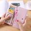 กระเป๋าสตางค์ผู้หญิง Ribbon Cute สีชมพู thumbnail 6