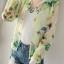 เสื้อคลุม พร้อมส่ง เสื้อคุลมแฟชั่น สีโทนเขียว ผ้าชีฟอง เนื้อบาง ใส่สบาย แต่งลายดอกไม้หวานๆ thumbnail 1