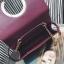 กระเป๋าถือ squre curcle สีแดง thumbnail 4