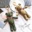 พวงกุญแจหมี น่ารัก lovely bear มีหลายสี thumbnail 9